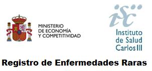 Logo Registro Enfermedades Raras